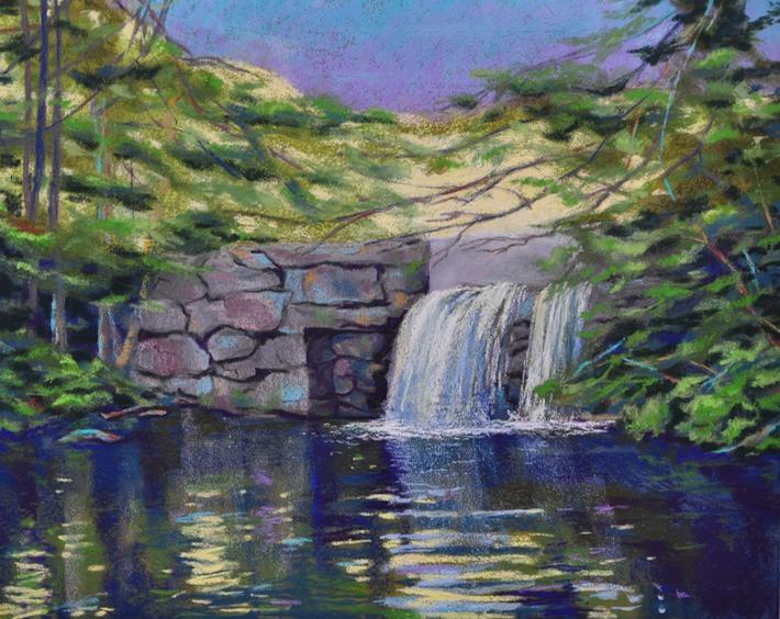 New Hampshire >> Falls at Nubanusit Lake, New Hampshire | JEANNE MCKINNEY